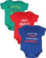 Gkidz Baby Boys & Baby Girls Multicolor Bodysuit