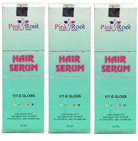 Pink Root HAIR SERUM PACK OF 3(300 ml)