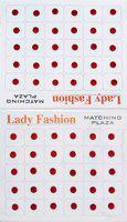 Lady Fashion Matching Plaza 1901201603 Forehead Maroon Bindis(Stick On)