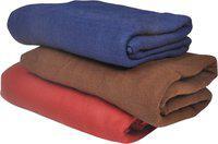 Jass Home Decor Plain Single Blanket(Microfiber, Multicolor)
