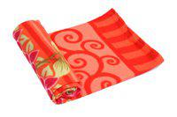 Jass Home Decor Printed Double Blanket(Microfiber, Red)