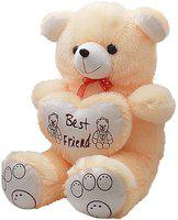 Rudraksh Enterprises Teddy Bear 5 Feet Jumbo Size Cream  - 152 cm(Multicolor)