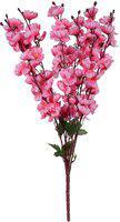 JaipurCrafts Pink Magnolia Artificial Flower(21.5 inch, Pack of 1)