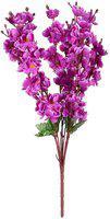 JaipurCrafts Purple Assorted Artificial Flower(21.5 inch, Pack of 1)