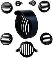 Auto Stylist Desert Shade Edition Bike Headlight Grill(Black)