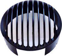 Auto Stylist Heavy CL Metal Series Bike Headlight Grill(Black)