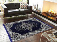 Volvo Multicolor Cotton Carpet(121 cm X 183 cm)