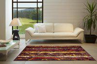 SPACES Multicolor Polypropylene Carpet(47.24 cm X 80.46 cm)