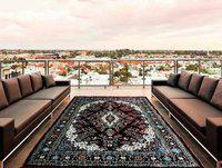 home BEST Multicolor Polyester Carpet(182 cm X 272 cm)
