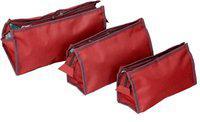 KUBER INDUSTRIES yatra Travel Toiletry Kit(Red)