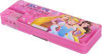 Disney PRINCESS PRINCESS Art Plastic Pencil Box(Set of 1, Multicolor)