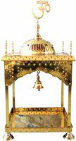 Brass Gift Center Temple in Pure Brass Brass Home Temple(Height: 96 cm)