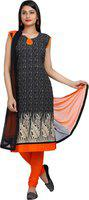 Aavaya Fashion Printed Kurta & Churidar(Stitched)