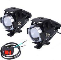 Cadeau Headlight LED(Universal For Bike, Pack of 2)