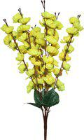 SAF Yellow Jasmine Artificial Flower(22 inch, Pack of 1)