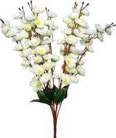 SAF White Jasmine Artificial Flower(22 inch, Pack of 1)