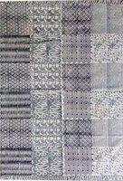 Poonam Arts Multicolor Cotton Area Rug(120 cm X 180 cm)