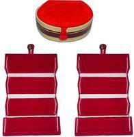 Aadhya Combo Of Earring & Bangle Folder pack of 3 Vanity Box(Multicolor)