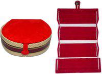 Aadhya Combo of bangle & earring folder pack of 2 Vanity Box(Multicolor)