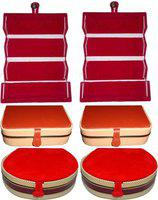 Aadhya combo of ring,bangle& earring folder Pack of 6 Vanity Box(Multicolor)