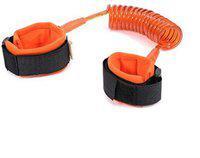 Shrih Child Safety Harness Strap Rope Leash Walking Hand Belt(Orange)
