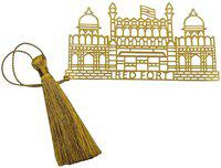Skywalk Art & Craft Red Fort Delhi Metal Bookmark Bookmark(Red Fort Delhi, Gold)