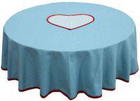 Adt Saral Plaid 4 Seater Table Cover(Multicolor, Cotton)