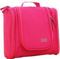 ShopAis Bag Travel Toiletry Kit(Pink)