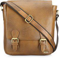 Teakwood Men Tan Messenger Bag