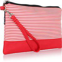 HOME HEART CELL PHONE WRISTLET Cosmetic Bag(Red)