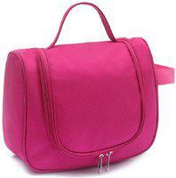ClickUS Multipurpose Makeup Bag Travel Toiletry Kit(Pink)