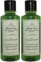 Khadi Pure Herbal Neem, Teatree & Basil  Hair Oil(210 ml)