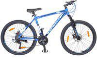 Atlas Hammer Front Suspension&Disc Bike For Adults Bluek&Black 26 T Mountain/Hardtail Cycle(21 Gear, Blue)
