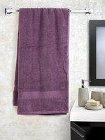 SPACES Cotton 545 GSM Bath Towel(Lavender)