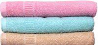 Shopping Store Cotton 450 GSM Bath Towel(Pack of 3, Multicolor)