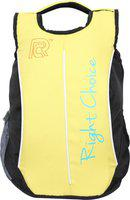 Right Choice (2230) black yellow stylish college bags boy & girl 5 L Backpack(Black, Yellow)