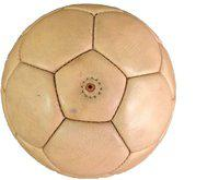 Sahni Sports Natural Color Size 5 Football - Size: 5(Pack of 1, Brown)