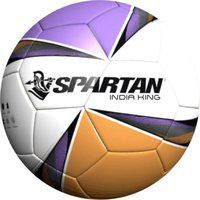 Spartan SOCCER BALL INDIA KING Football - Size: 5(Pack of 1, Multicolor)