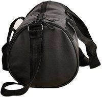 Trend Black Shoe Pocket Gym Bag(Black)