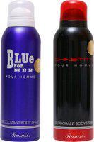 Rasasi blue for man,chastity Deodorant Spray - For Men(200 ml)