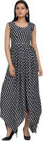 Aavaya Fashion Women's Maxi Multicolor Dress