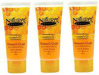 Nature's Essence Gold illuminating Face wash ( Pack Of 3) Face Wash(60 ml)