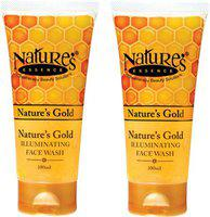 Nature's Gold Illuminating Pack of 2 Face Wash(100 ml)