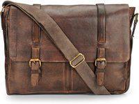 Teakwood Men Brown Messenger Bag