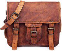Goatter Men Tan Messenger Bag