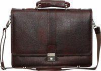 C Comfort Men Brown Messenger Bag