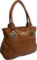 Atorakushon Women Gold Messenger Bag