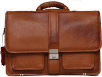 C Comfort Men Tan Messenger Bag