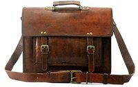 SR MART Men Brown Messenger Bag