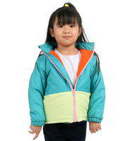 Cherry Crumble California Full Sleeve Solid Baby Girls Jacket